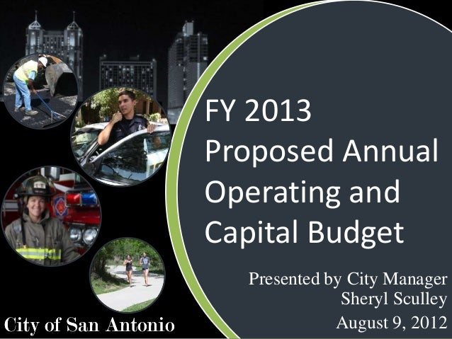 FY 2013                      Proposed Annual                      Operating and                      Capital Budget       ...