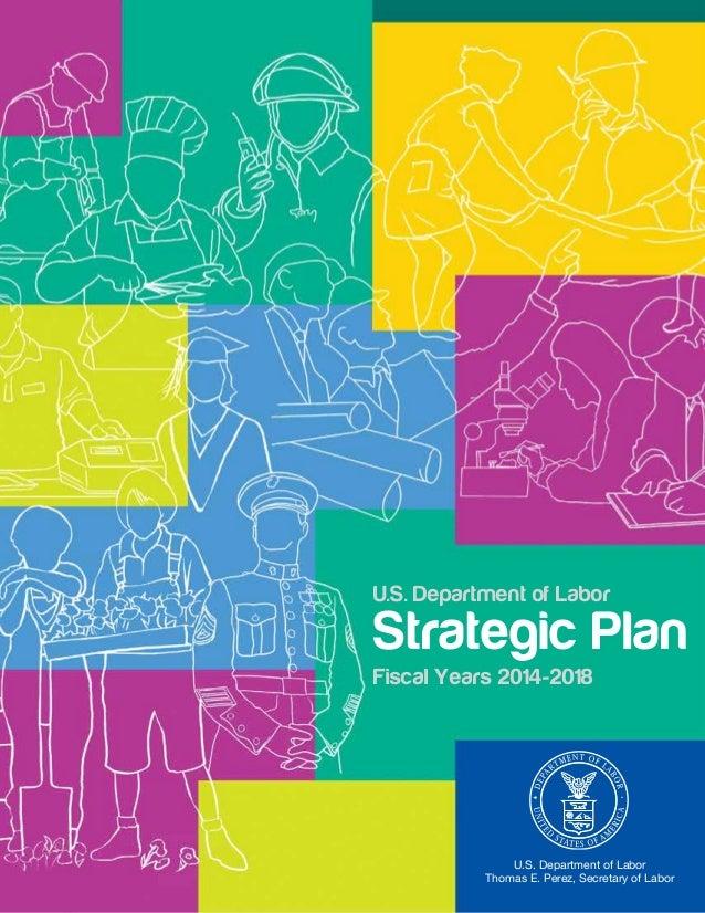 Fy2014 2018 Department of Labor Strategic Plan