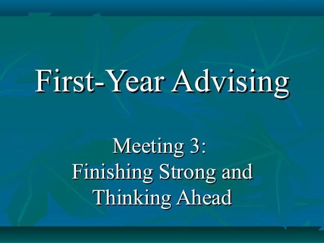 Fya meeting 3 2012