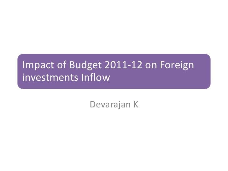 Fy budget presentation devarajan