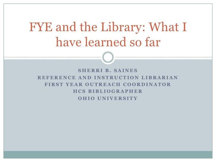 Fye And The Library Cincin Fye 09