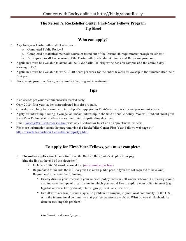 Fyf tip sheet