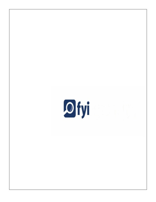 FYI Screening Brochure