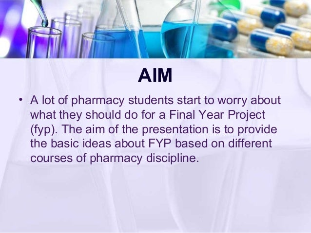 Pharmacy research paper topics