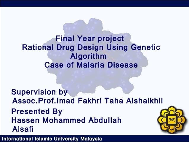Rational Drug Design using Genetic Algorithm