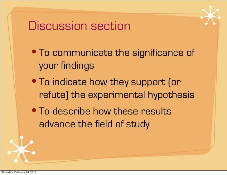 "thesis discussion writing Finishing your phd thesis: ""writing the introduction and conclusion together will help to tie up the thesis together, so save it for the end."
