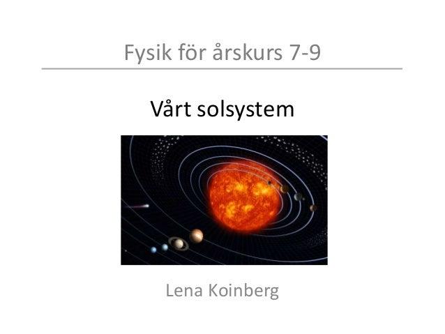 fysik 1