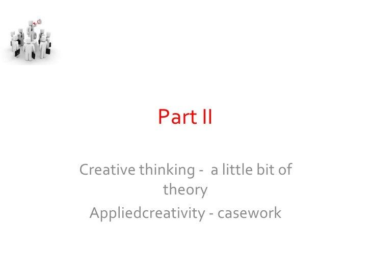 Fys Meeting 1 On Creativity