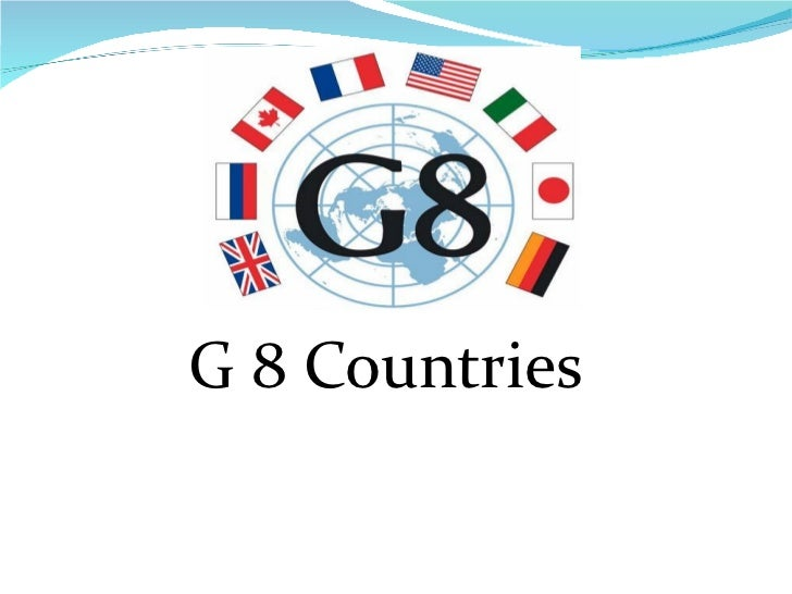 G 8 countries