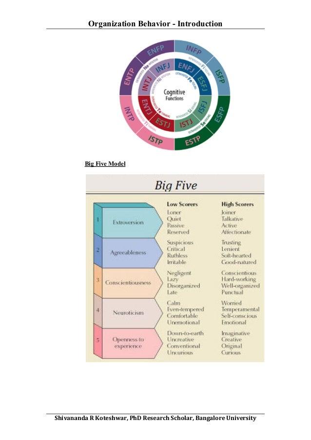 Organizational Behavior Term Paper
