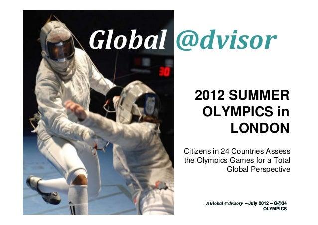 Le Olimpiadi di Londra 2012