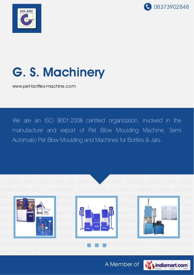 Blow Moulding Machine by G s-machinery