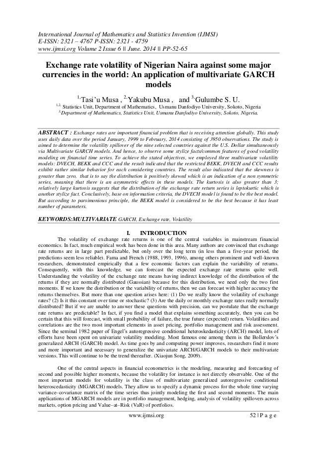 International Journal of Mathematics and Statistics Invention (IJMSI) E-ISSN: 2321 – 4767 P-ISSN: 2321 - 4759 www.ijmsi.or...