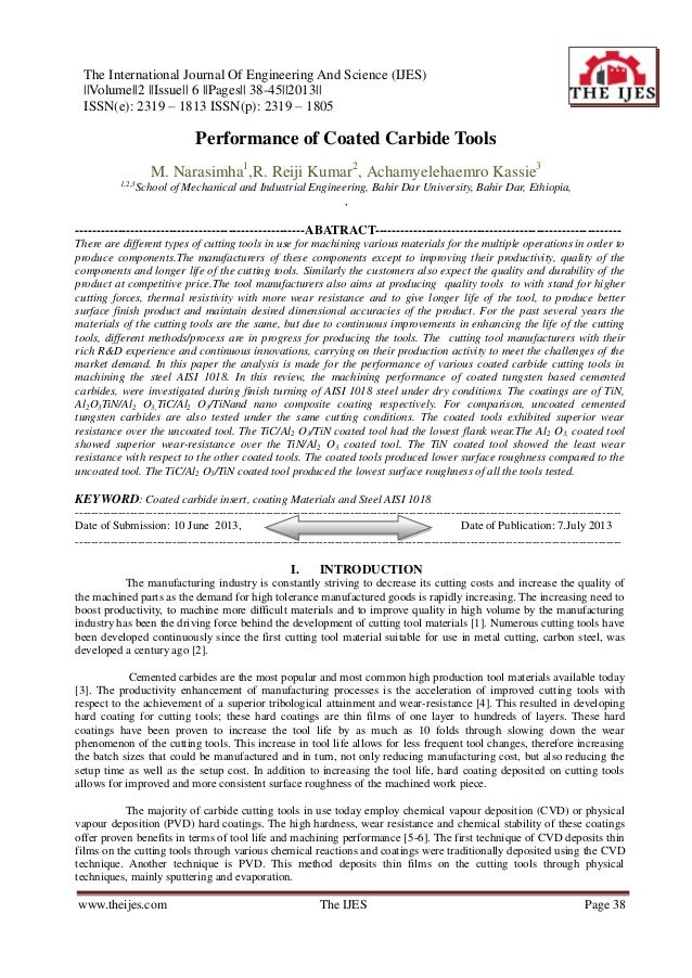 The International Journal Of Engineering And Science (IJES) ||Volume||2 ||Issue|| 6 ||Pages|| 38-45||2013|| ISSN(e): 2319 ...