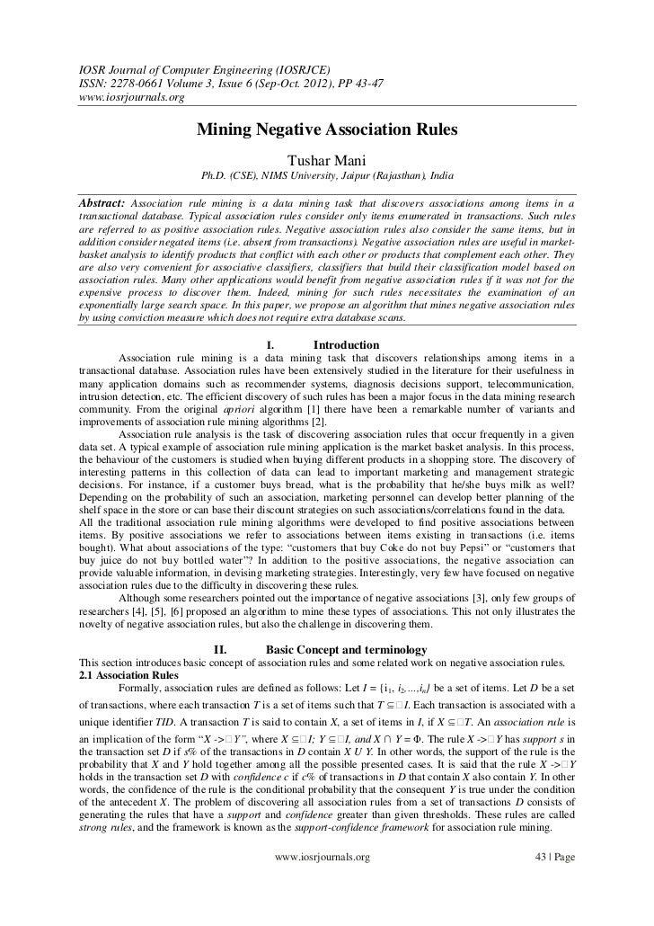 IOSR Journal of Computer Engineering (IOSRJCE)ISSN: 2278-0661 Volume 3, Issue 6 (Sep-Oct. 2012), PP 43-47www.iosrjournals....