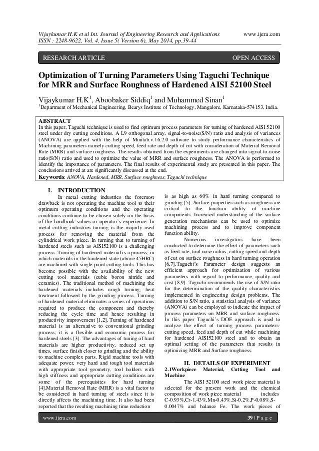 Vijaykumar H.K et al Int. Journal of Engineering Research and Applications www.ijera.com ISSN : 2248-9622, Vol. 4, Issue 5...