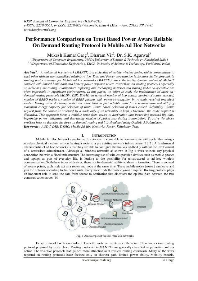 IOSR Journal of Computer Engineering (IOSR-JCE)e-ISSN: 2278-0661, p- ISSN: 2278-8727Volume 9, Issue 4 (Mar. - Apr. 2013), ...