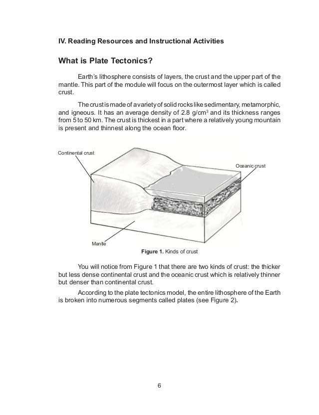 Test Plate Tectonics What is Plate Tectonics