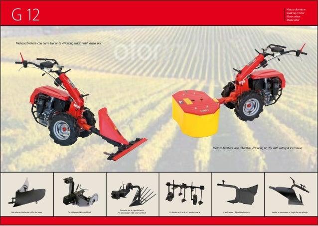 G12 for Motocoltivatore mira