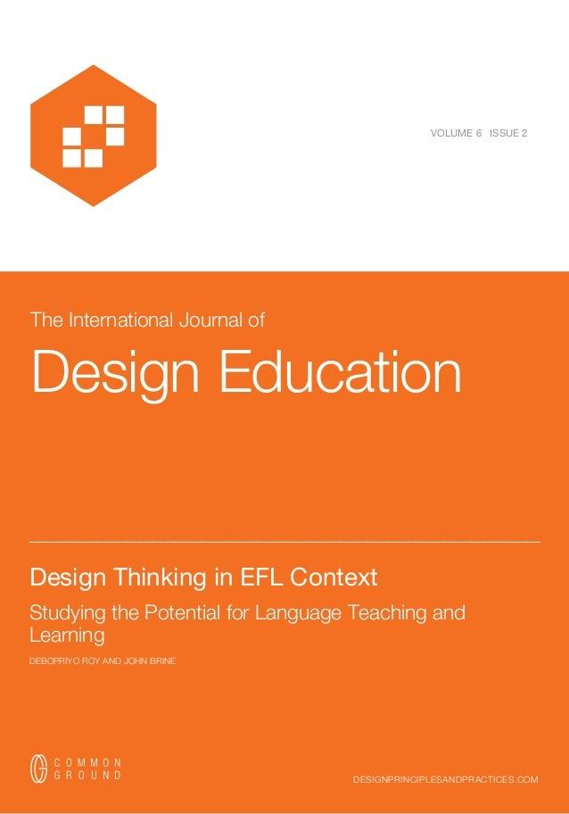 Design Thinking in EFL Context