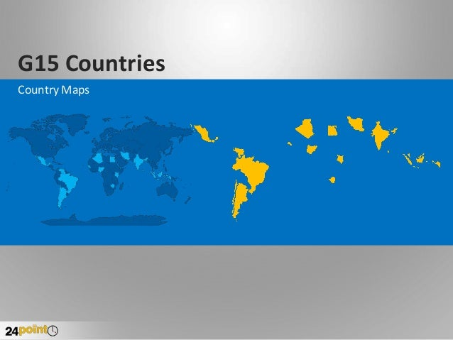 Group of 15 Countries - PowerPoint Slides