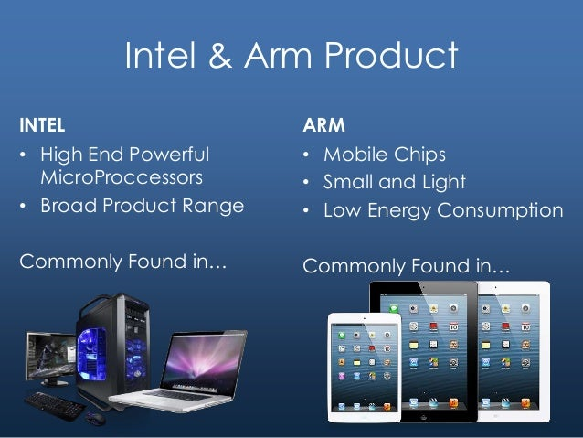 intel vs arm case Confused by the choice between an intel-powered device and one based on the arm architecture we explain the difference.