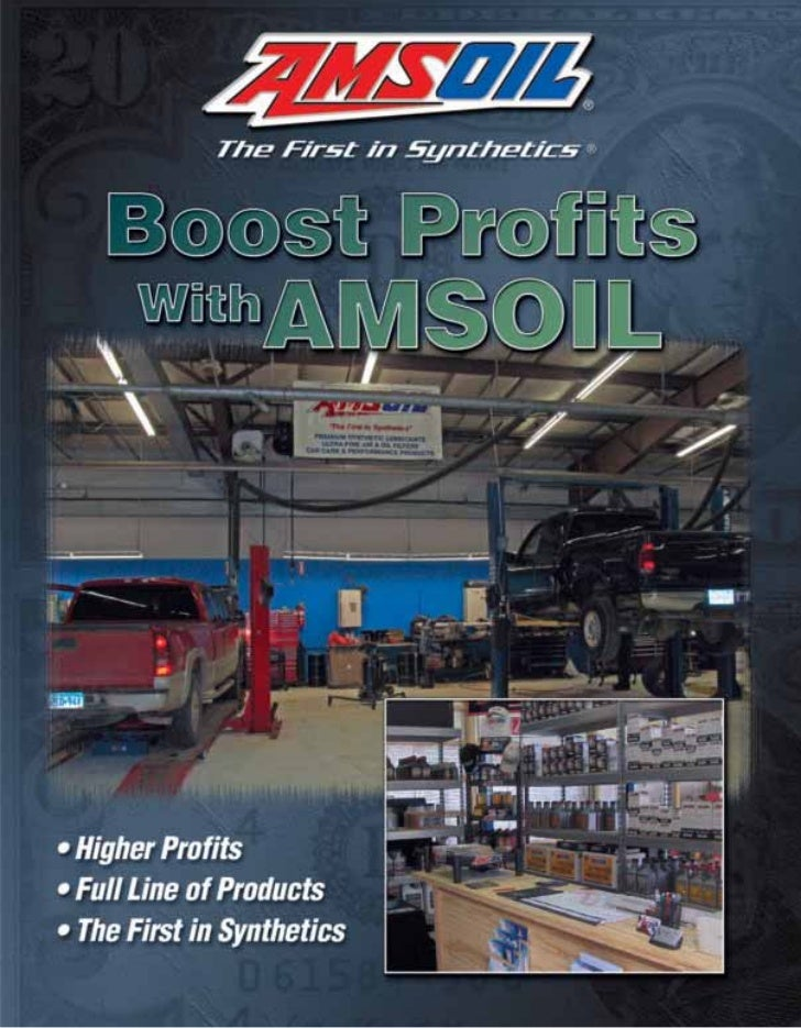 G2335   boost profits with amsoil