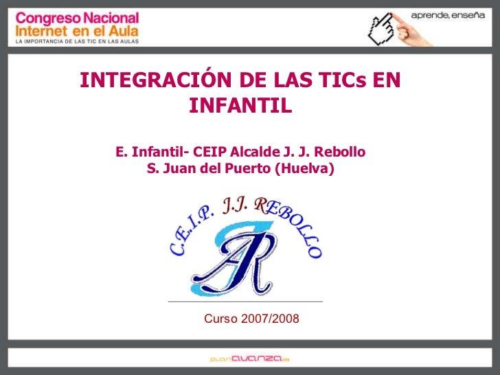 "Cinta Calañas Pérez - ""Integración de las tic en Infantil"""