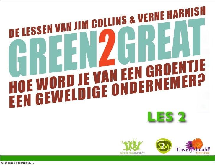 G2G presentatie les 2