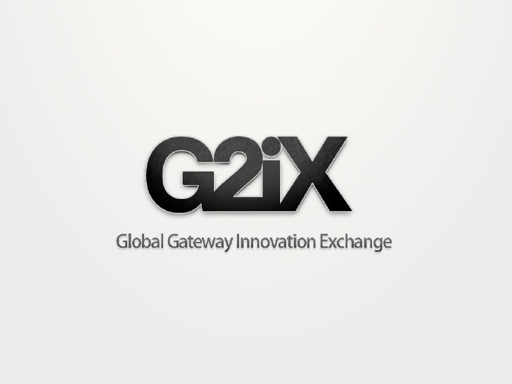 G2iX CIO Forum - Updated CIO Innovation Toolkit