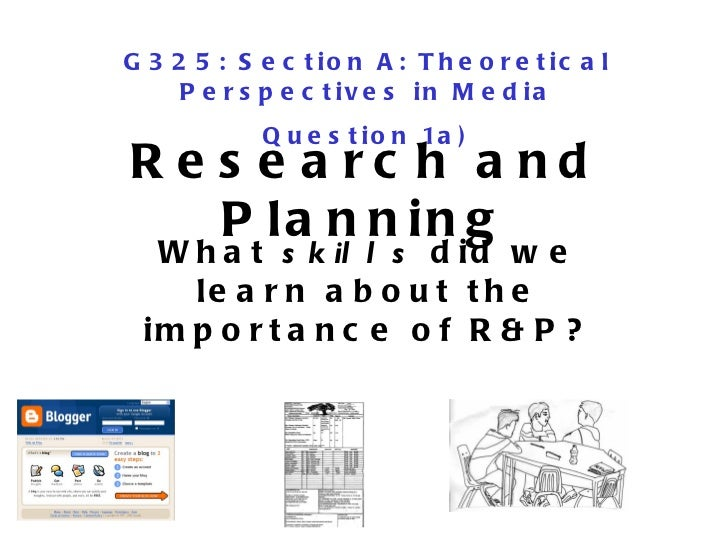 G325 section-a-reasearch and-planning