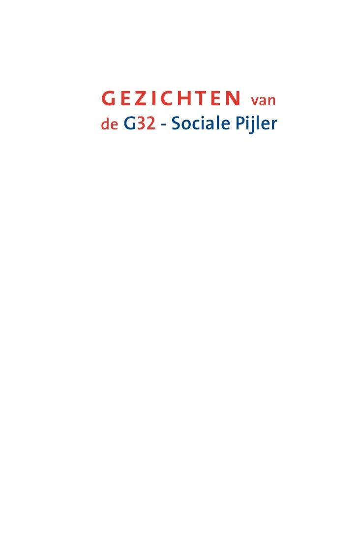 gezichten          van de G32 - Sociale Pijler