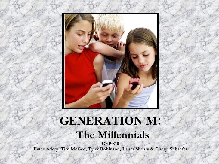 G4 Generation Mthe Millenials.Ppt