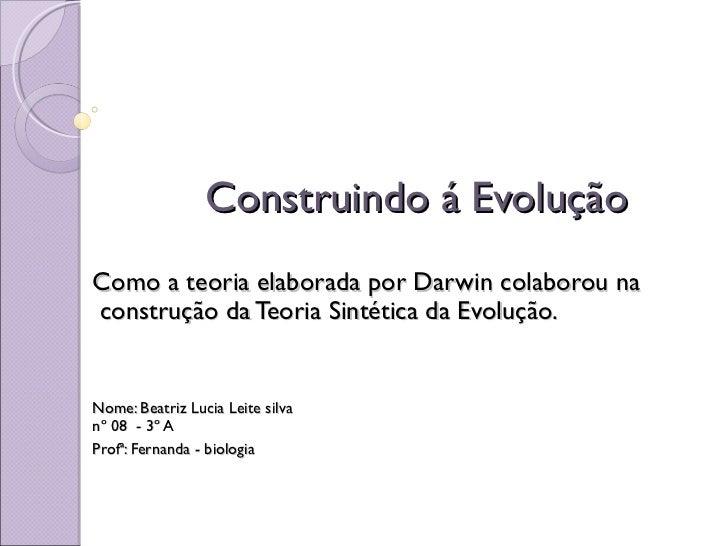 Teoria Sintetica da Evolução 3A