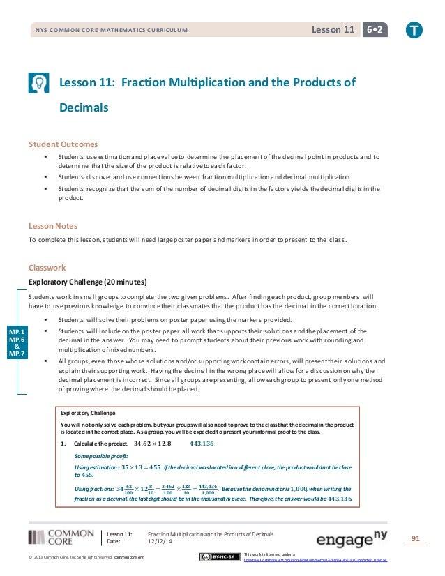 nys common core mathematics curriculum lesson 10 homework