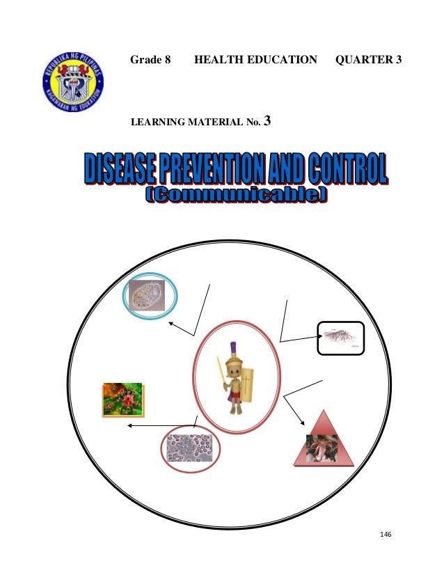 146 Grade 8 HEALTH EDUCATION QUARTER 3 LEARNING MATERIAL No. 3