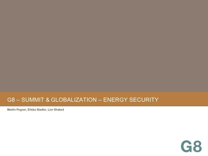 G8 – Summit & Globalization 03
