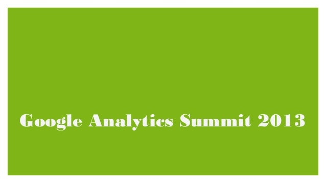Google Analytics Conference and Product Releases