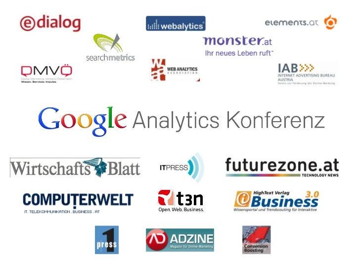 GA-Konferenz-2011 Daniel Steiner_Custom Reports & Dashboards
