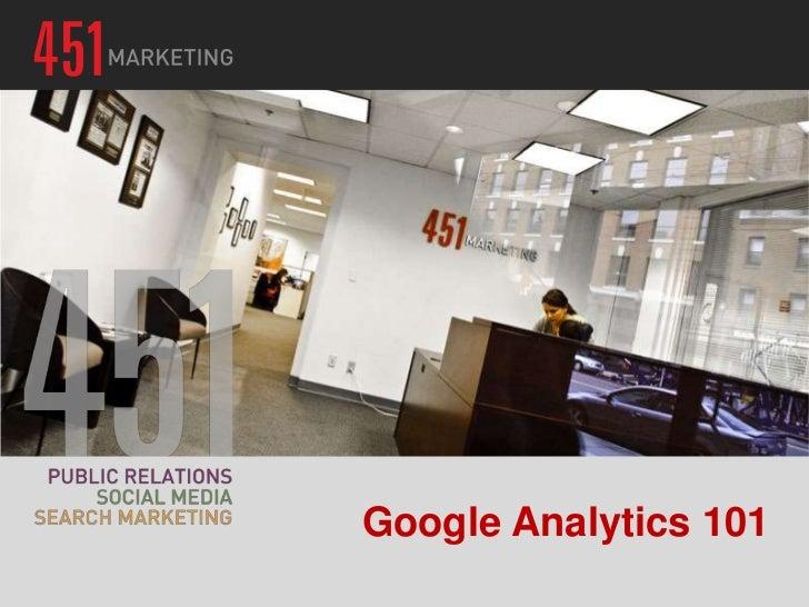Google Analytics 101 - Francis Skipper