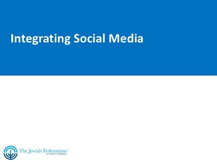 Ga 2011 social media integration
