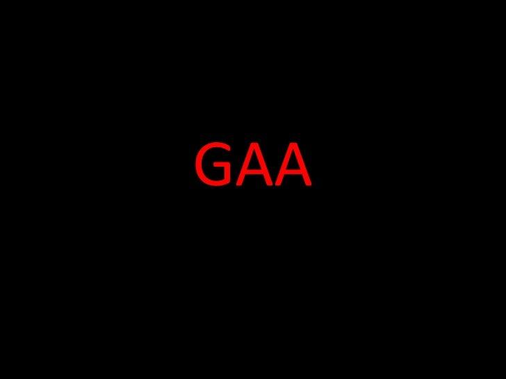 GAA et les maillots de foot