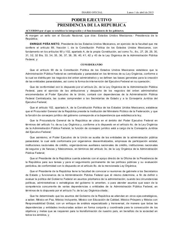Nuevo Gabinete del Presidente Enrique Peña Nieto EPN @ponchomunoz