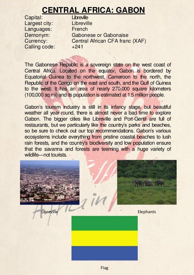 Country Description - Gabon