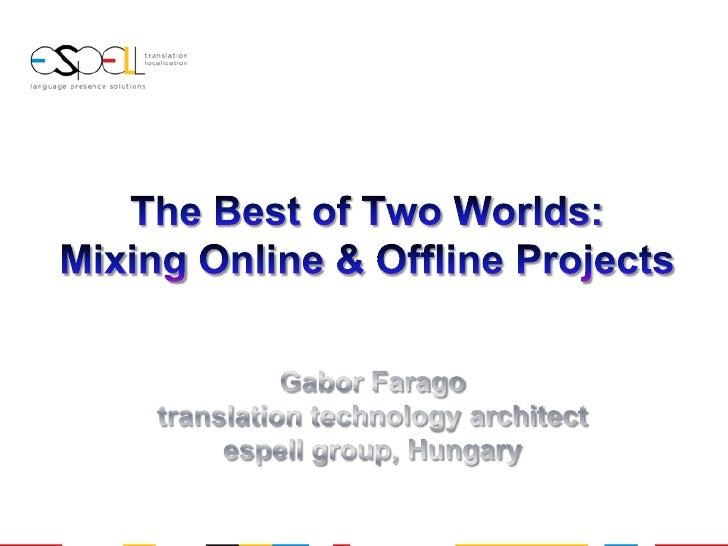 TM-Europe 2010_Mixing online+offline projects