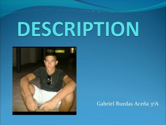 Gabriel Ruedas Aceña 3ºA