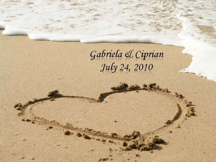 Gabriela & Ciprian