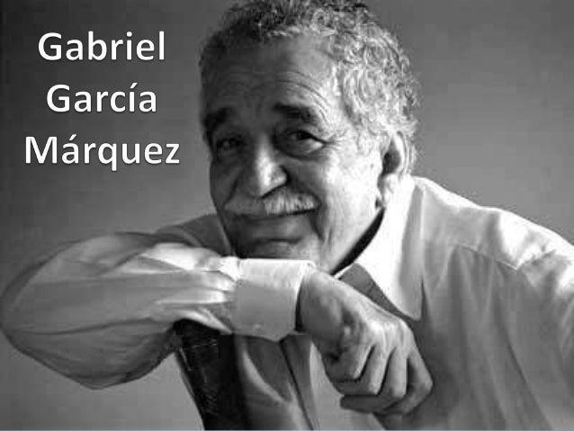 Gabriel José de la Concordia García Márquez Es un escritor, novelista, cuentista, guionista yperiodista colombiano. En 19...