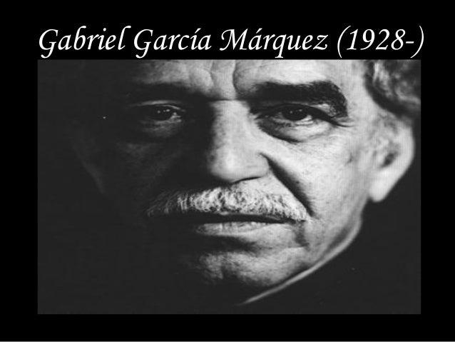 Gabriel García Márquez (1928-)