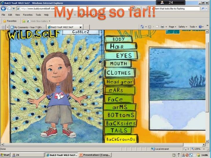 My blog this year